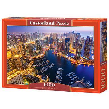 Selecta Castorland legpuzzel Dubai bij Nacht 1000 stukjes