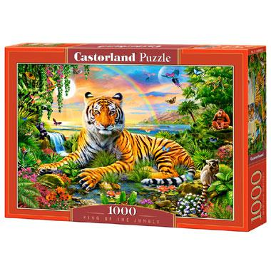 Selecta Castorland legpuzzel Koning van de Jungle 1000 stukjes
