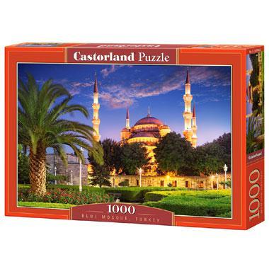 Selecta Castorland legpuzzel blauwe Moskee in Turkije 1000 stukj