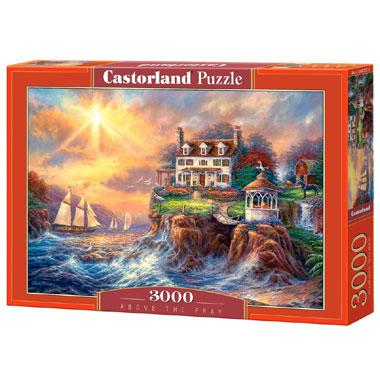Selecta Castorland legpuzzel Above The Fray 3000 stukjes
