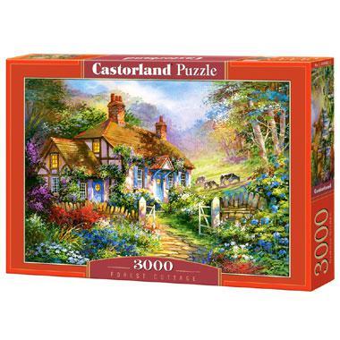 Selecta Castorland legpuzzel Bos Huisje 3000 stukjes