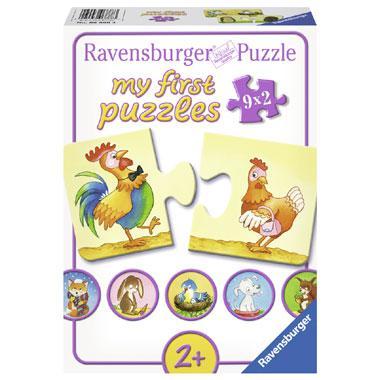 Ravensburger mijn eerste puzzels 9 in 1 puzzel Tegenovergestelde