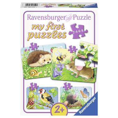 Ravensburger mijn eerste puzzels kinderpuzzel Dieren in de Tuin