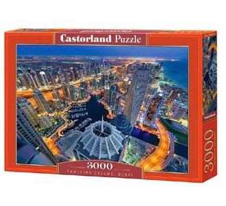 Selecta Castorland legpuzzel Towering Dreams in Dubai 3000 stukj