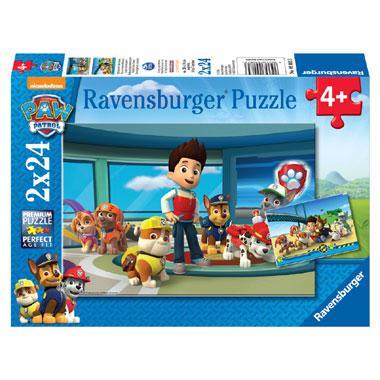 Ravensburger Paw Patrol puzzel Hulpvaardige Speurneuzen 24 stukj