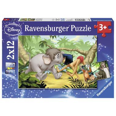 Ravensburger Disney jungle boek puzzel Mowgli en zijn Vrienden 1