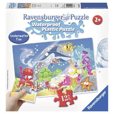 Ravensburger plastic kinderpuzzel Onder Water 12 stukjes vanaf 2