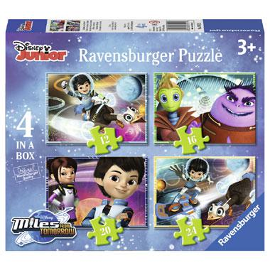 Ravensburger Disney junior puzzel Miles from Tomorrow 24 stukjes