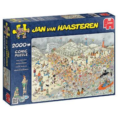 Jumbo Jan van Haasteren legpuzzel Nieuwjaarsduik 2000 stukjes