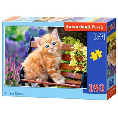 Castorland kinderpuzzel Gember Katje 180 stukjes vanaf 7 jaar