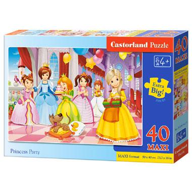Castorland maxi kinderpuzzel Prinses Feest 40 stukjes vanaf 4 ja