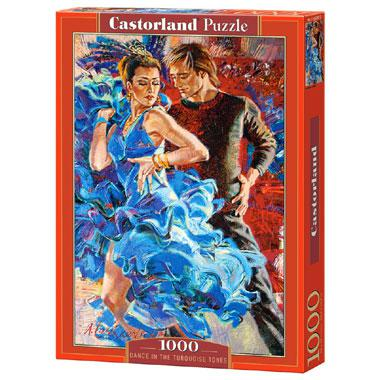 Selecta Castorland legpuzzel Dance in the Turquoise Tones 1000 s