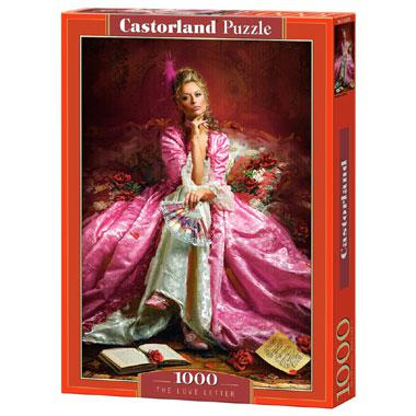 Selecta Castorland legpuzzel The Love Letter 1000 stukjes