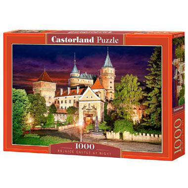 Castorland legpuzzel Bojnice Kasteel bij Nacht 1000 stukjes