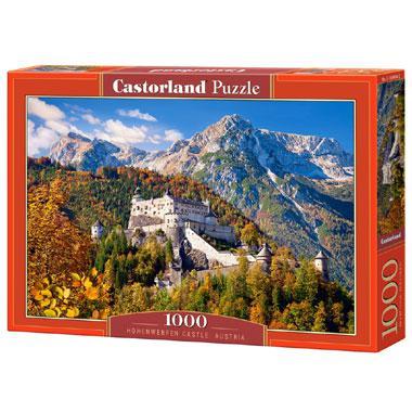 Selecta Castorland legpuzzel Hohenwerfen Kasteel in Oostenrijk 1