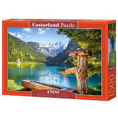 Selecta Castorland legpuzzel Gosausee in Oostenrijk 1500 stukjes