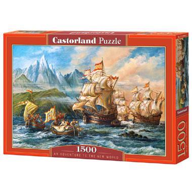 Selecta Castorland legpuzzel Avontuur naar de Nieuwe Wereld 1500