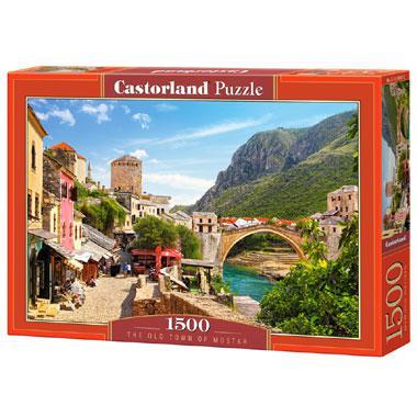 Selecta Castorland legpuzzel de Oude Stad van Mostar 1500 stukje