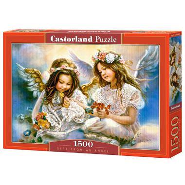 Selecta Castorland legpuzzel Geschenk van een Engel 1500 stukjes