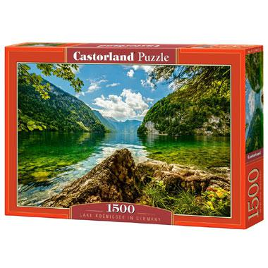 Selecta Castorland legpuzzel Konigssee meer in Duitsland 1500 st