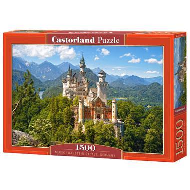 Selecta Castorland legpuzzel Slot Neuschwanstein 1500 stukjes