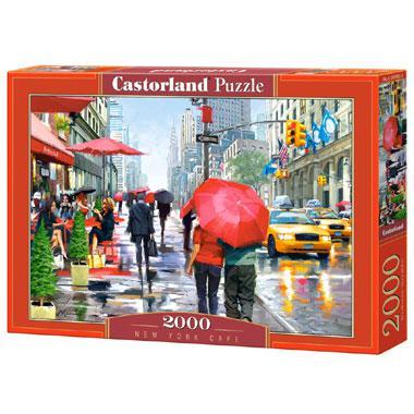 Castorland legpuzzel New York Cafe 2000 stukjes