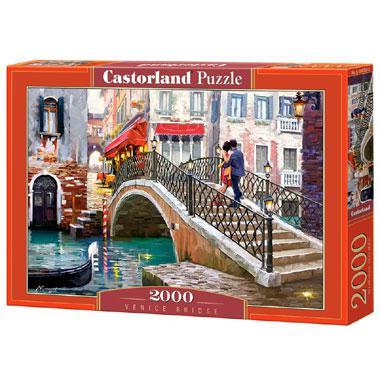 Castorland legpuzzel Venetie Brug 2000 stukjes