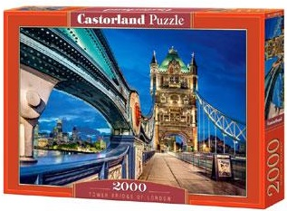 Castorland legpuzzel Tower Bridge van Londen 2000 stukjes