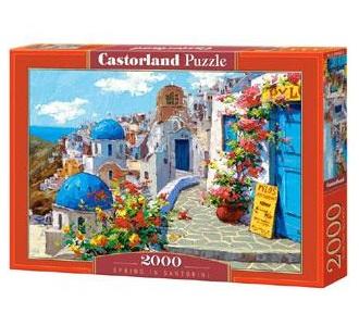 Castorland legpuzzel Lente in Santorini 2000 stukjes