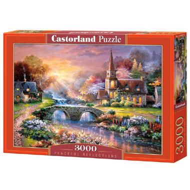 Selecta Castorland legpuzzel Vredige Reflecties 3000 stukjes