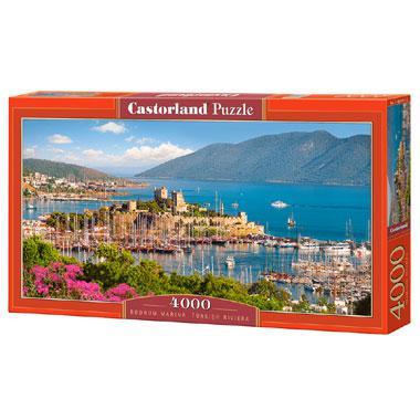 Selecta Castorland legpuzzel Bodrum Marina Turkse Riviera 4000 s