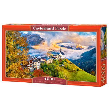 Selecta Castorland legpuzzel Colle Santa Lucia Italie 4000 stukj