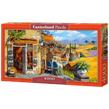 Selecta Castorland legpuzzel Kleuren van Toscane 4000 stukjes