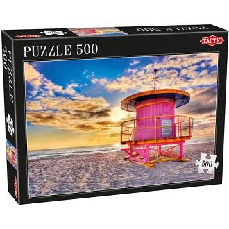Tactic puzzel miami 500 stukjes vanaf 9 jaar