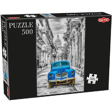 Tactic puzzel klasieke auto 500 stukjes