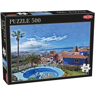 Tactic puzzel blauwe hemel 500 stukjes vanaf 9 jaar