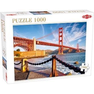 Tactic puzzel baai van San Francisco 1000 stukjes voor peuters