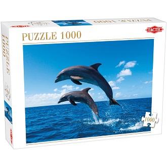Tactic puzzel twee springende dolfijnen 1000 stukjes