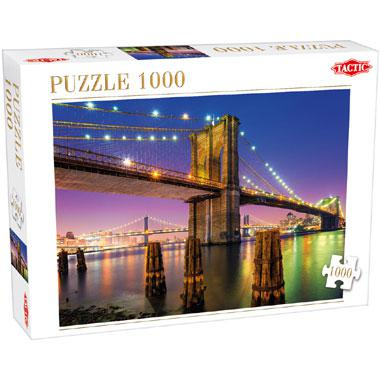 Tactic puzzel brug over de east river 1000 stukjes
