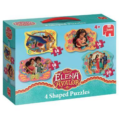 Jumbo vormpuzzel Disney elena van avalor 20 stukjes vanaf 4 jaar