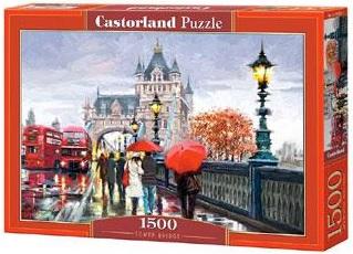Selecta Castorland legpuzzel Tower Bridge Londen 1500 stukjes