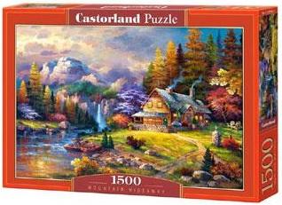 Selecta Castorland legpuzzel Mountain Hideaway 1500 stukjes