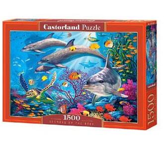 Selecta Castorland legpuzzel Geheimen van het Rif 1500 stukjes