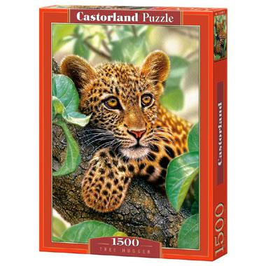 Selecta Castorland legpuzzel Bomen knuffelaar 1500 stukjes