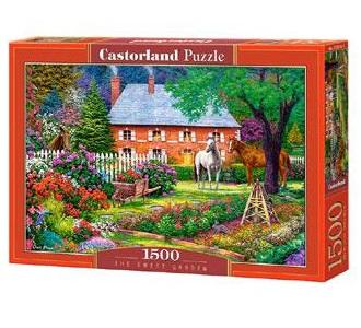 Selecta Castorland legpuzzel the Sweet Garden 1500 stukjes