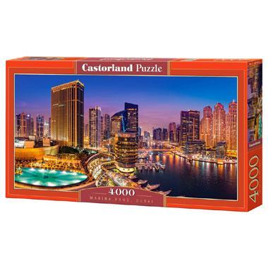 Selecta Castorland legpuzzel Marina Pano in Dubai 4000 stukjes