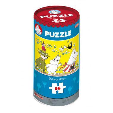 Tactic Moomin kinderpuzzel In een Huis 56 stukjes vanaf 6 jaar