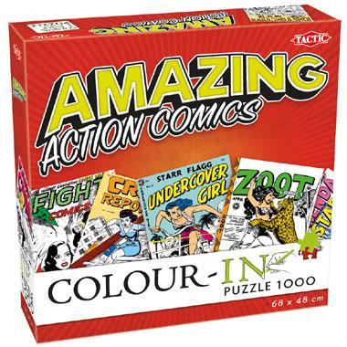 Tactic Colour In kinderpuzzel Amazing Action Comics 1000 stukjes