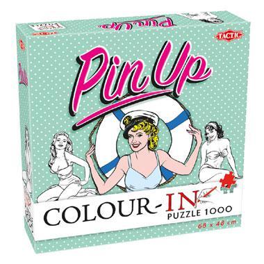 Tactic legpuzzel Colour In Pin Up 1000 stukjes