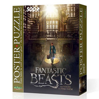 Wrebbit poster puzzel Fantastic Beasts Macusa 500 stukjes